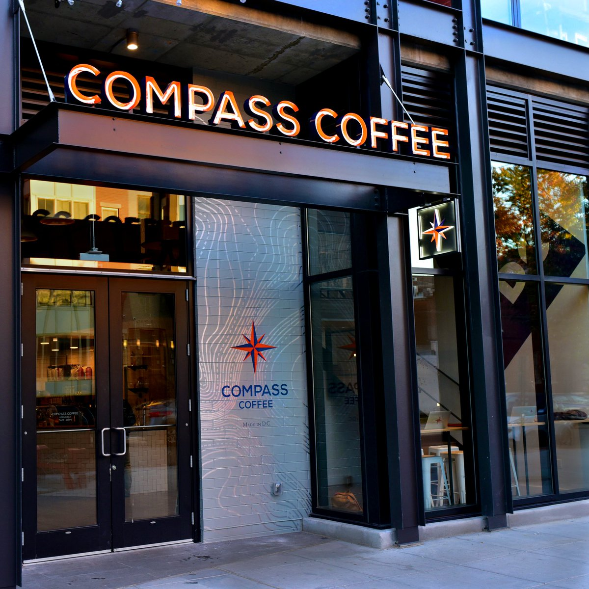 Compass Coffee at the Shay